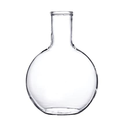 Supertek 15.108.1000 P1 Flat Bottom Flask, 1000 ml, Pack of 1 Glassware   Labware