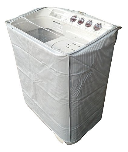 Aditya Accessories Washing Machine Semi Automatic Top Load Grey Cover  7   8.5 kg  Washer Parts   Accessories