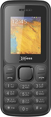 Xccess X493 Red Basic Feature Phone with Dual SIM Card and 32  GB Expandable Memory Smartphones   Basic Mobiles