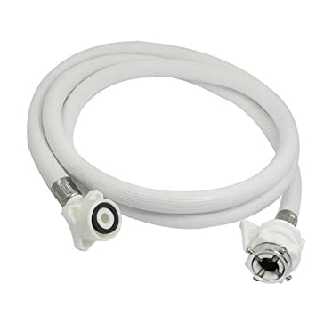 Honest   Washing Machine Inlet Hose Pipe with Tap Adaptor for Fully Automatic, 3 Meter Hoses