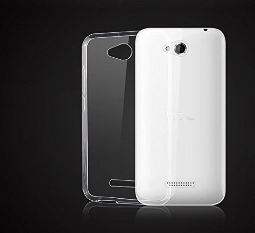 Backer The Brand Back Cover For HTC Desire 616 Dual SIM   Transparent Mobile Accessories
