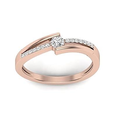 Perrian 18KT Diamond Ring for Women Women
