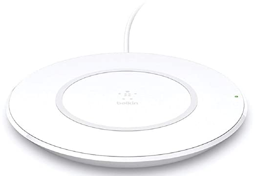 Belkin Boost Up Wireless Charging Pad 7.5W   Wireless Charger Optimized for iPhone, Compatible with Any Qi Enabled Device from Samsung, LG and More In