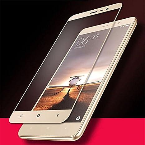 Lize Premium Full Screen Coverage Tempered Glass Screen Guard Protector for Xiaomi Redmi Mi Mi 4A  Gold  Maintenance, Upkeep   Repairs