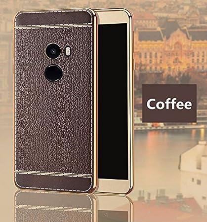Excelsior Silicon Back Cover case for Xiaomi Mi Mix 2  Coffee  Mobile Accessories