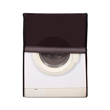 Glassiano Coffee Colored Washing Machine Cover for Samsung WW60M206LMW/TL Front Load 6kg Washing Machine Covers