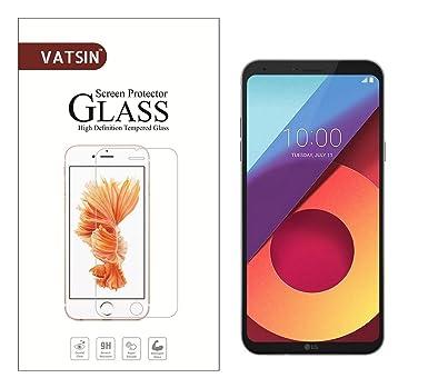 Tempered Glass Screen Guard for LG Q6/LG Q6 Plus by Vatsin Screen guards