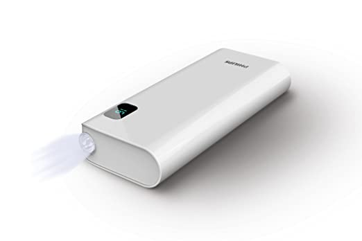Philips DLP10016/97 10000mAH Lithium Ion Power Bank  White  Power Banks