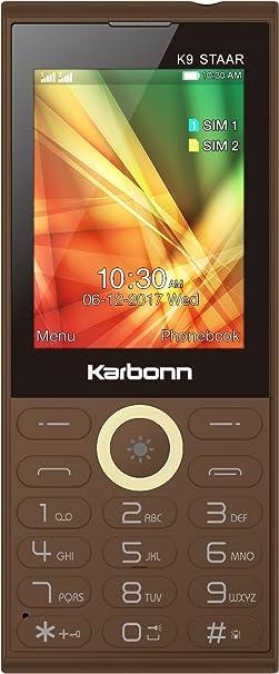 Karbonn K9 Staar  Coffee  Basic Mobiles