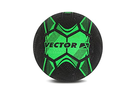 Vector X Street Soccer Rubber Moulded Football, Size 5 Match Balls