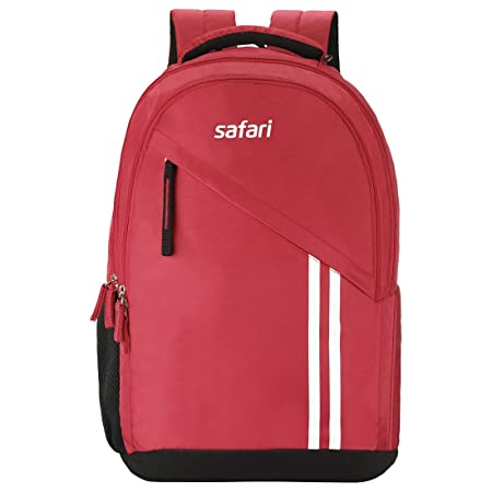 Safari 27 Ltrs Red Casual/School/College Backpack  Sport  Casual Backpacks