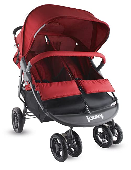 Joovy Scooter X2 Double Stroller The best umbrella stroller for twins