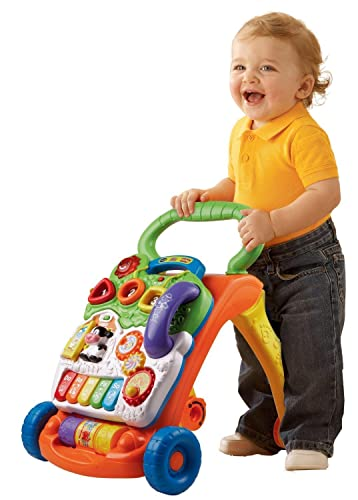 VTech Sit-to-Stand Learning Walker - #1 Best Seller Baby Push Walker
