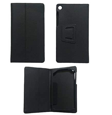KANICT Exclusive Tablet Leather Front  amp; Back Flip Flap Case Cover for Lenovo Tab 3 730X  Black  Cases   Covers