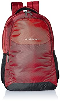 Aristocrat Revo 30 Ltrs Red Casual Backpack  BPREVO1RED  Casual Backpacks
