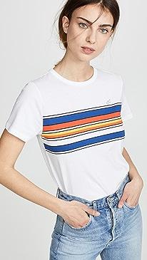 아페쎄 A.P.C. Piano T-Shirt,Blanc