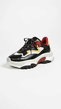 ASH Addict Trainers,Red/White