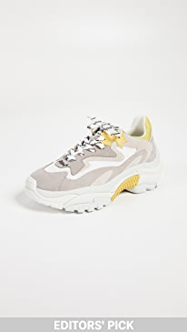ASH Addict Trainers,Grey/Off White/Yellow/White