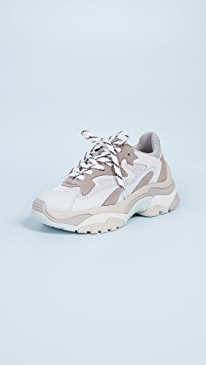 아쉬 어딕트 어글리슈즈 ASH ASH Addict Trainers,Grigio/White/Multi