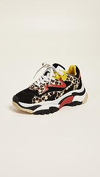 아쉬 어딕트 어글리슈즈 ASH Addict Trainers,Cheetah/Black
