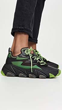 아쉬 이클립스 스니커즈 ASH Eclipse Sneakers,Black/Fluo Yellow
