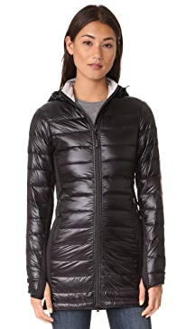 캐나다 구스 Canada Goose Hybridge Lite Long Coat,Black