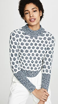 클럽 모나코 Brinda 스웨터 Club Monaco Brinda Sweater,Blue Multi