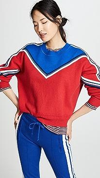 이자벨 마랑 Isabel Marant Etoile Kimo Pullover Sweater,Red