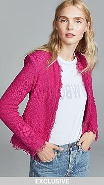 이로 IRO Shavani Jacket,Pink Fuchsia