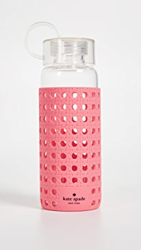 케이트 스페이드 Kate Spade Coral Glass Water Bottle