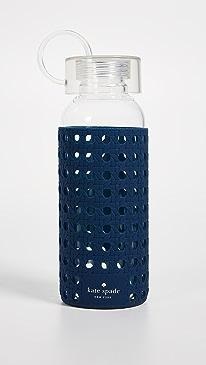 케이트 스페이드 Kate Spade Navy Glass Water Bottle