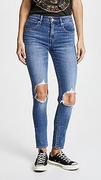 리바이스 하이라이즈 스키니진 Levis 721 High Rise Distressed Skinny Jeans