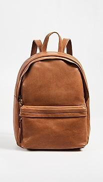 메이드웰 백팩 Madewell The Lorimer Backpack,English Saddle