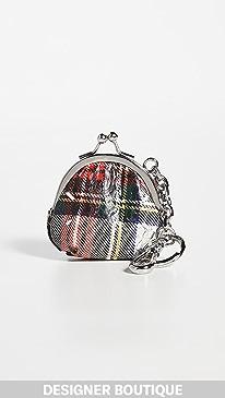메종 마르지엘라 동전 지갑 키체인 Maison Margiela Coin Purse Keychain,Tartan