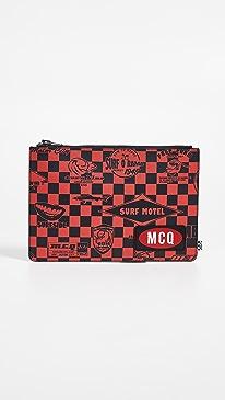 알렉산더 맥퀸 태블릿 파우치 - 레드 (아이패드 전용 파우치) McQ - Alexander McQueen Tablet Pouch,Cadillac Red