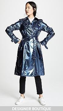 마크 제이콥스 Marc Jacobs Trench Coat,Blue