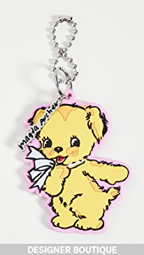 마크 제이콥스 키체인 Marc Jacobs You Are So Good Key Chain,Yellow Multi