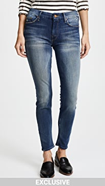 마더 진 스키니진 MOTHER The Looker Skinny Jeans