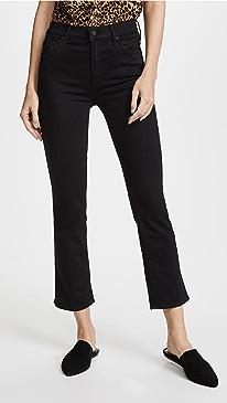 마더 진 청바지 MOTHER The Insider Crop Jeans
