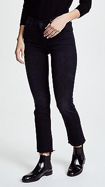마더 진 청바지 MOTHER The Rascal Ankle Snippet Jeans