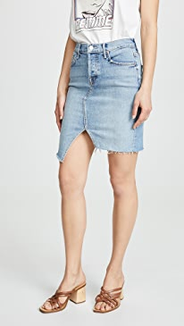 마더 진 톰캣 청치마 MOTHER Superior The Tomcat Slide Mini Fray Skirt,The Problem with Miracles