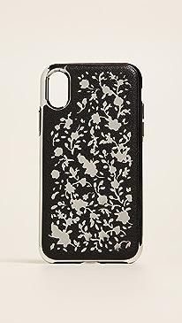 레베카 밍코프 Rebecca Minkoff Ditsy Floral Laser Cut iPhone X Case