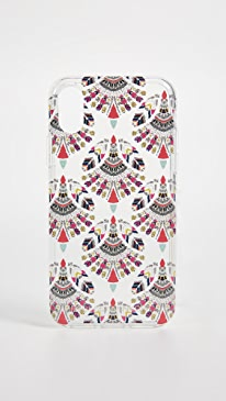 레베카 밍코프 Rebecca Minkoff Fan Print iPhone X Case