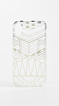 레베카 밍코프 Rebecca Minkoff Geo Print iPhone X Case