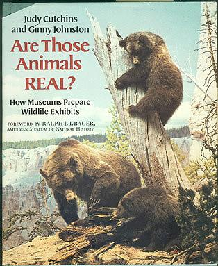 Are Those Animals Real?: How Museums Prepare Wildlife Exhibits, Cutchins, Judy; Johnston, Ginny