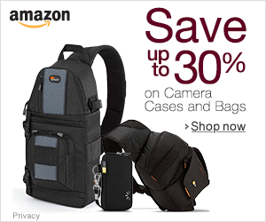 Amazon Camera Bag 30% discount
