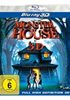 Monster House - 3D Blu-ray