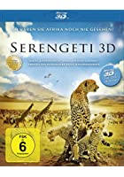 Serengeti - 3D Blu-ray