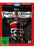 Pirates of the Caribbean - Fremde Gezeiten - 3D Blu-ray