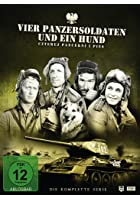 Vier Panzersoldaten und ein Hund